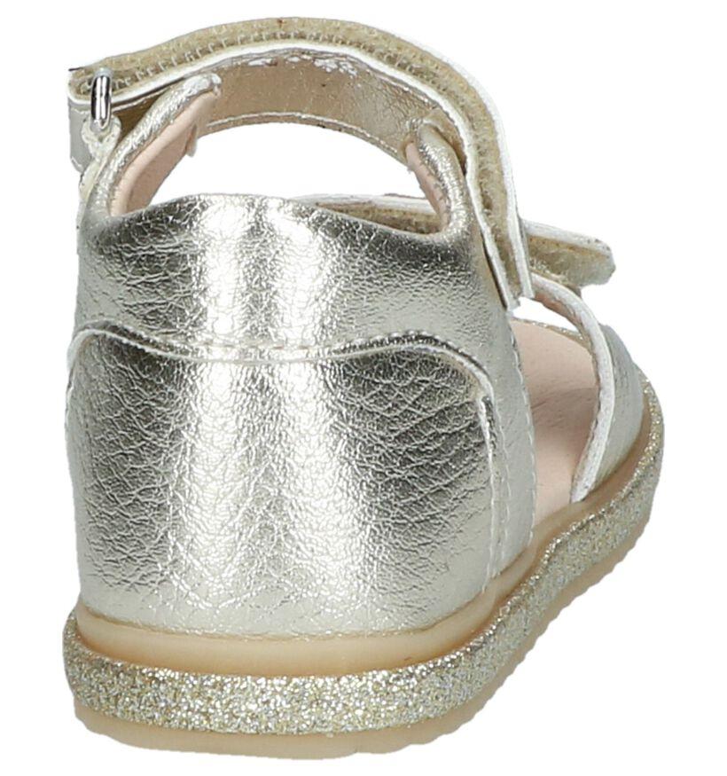 Gouden Sandalen Poldino in kunstleer (242329)