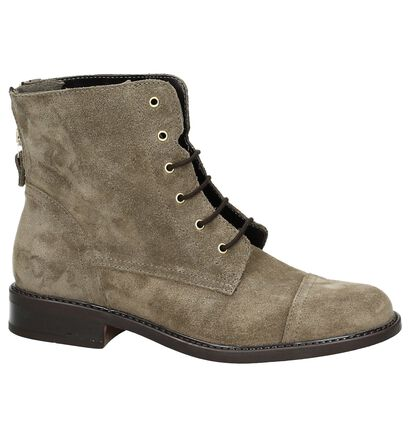 Hampton Bays by Torfs Taupe Boots, Taupe, pdp