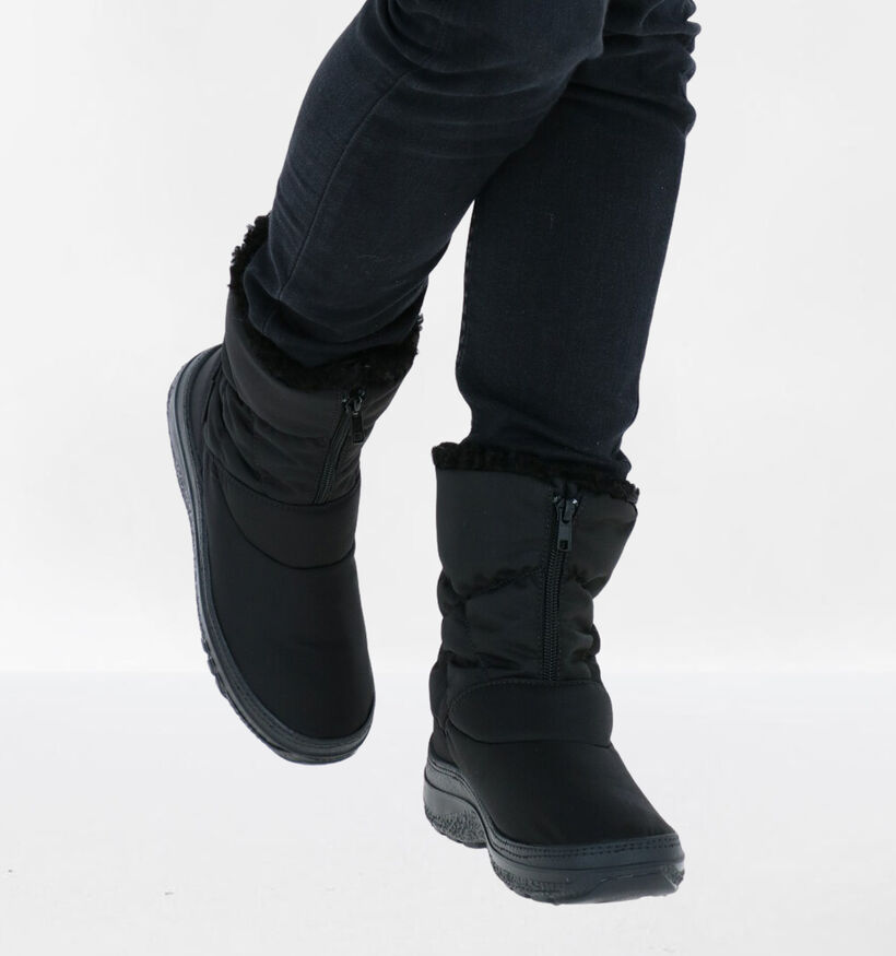 Antartica Taupe Snowboots in stof (283286)