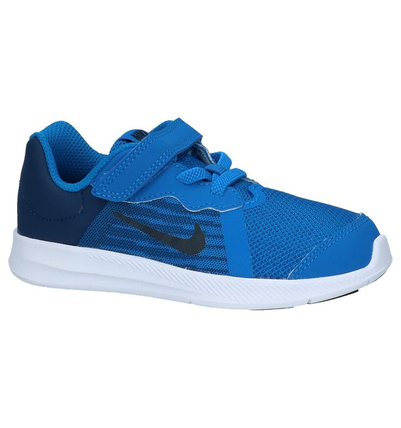 Sneakers Blauw Nike Downshifter 8TD in stof (219607)