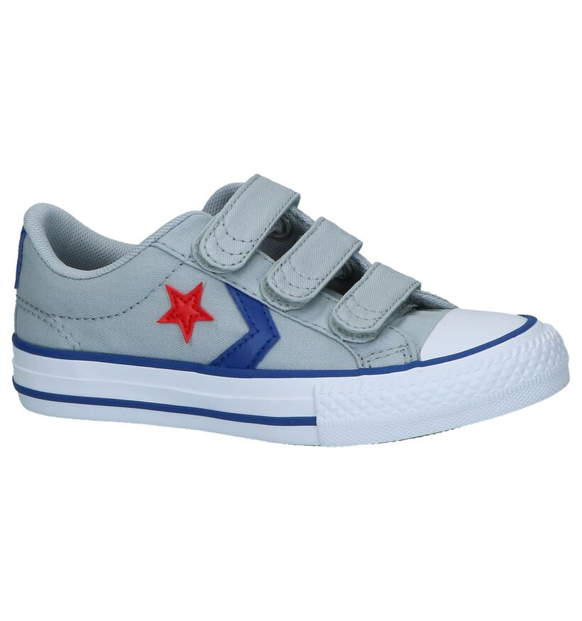 Converse Star Player Sneakers Zwart in stof (266029)