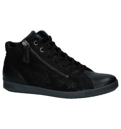 Zwarte Hoge Sneakers Mirel Sally, Zwart, pdp