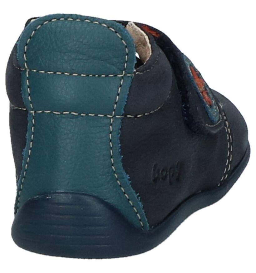 Bopy Pavelo Donkerblauwe Babyschoentjes in nubuck (224420)