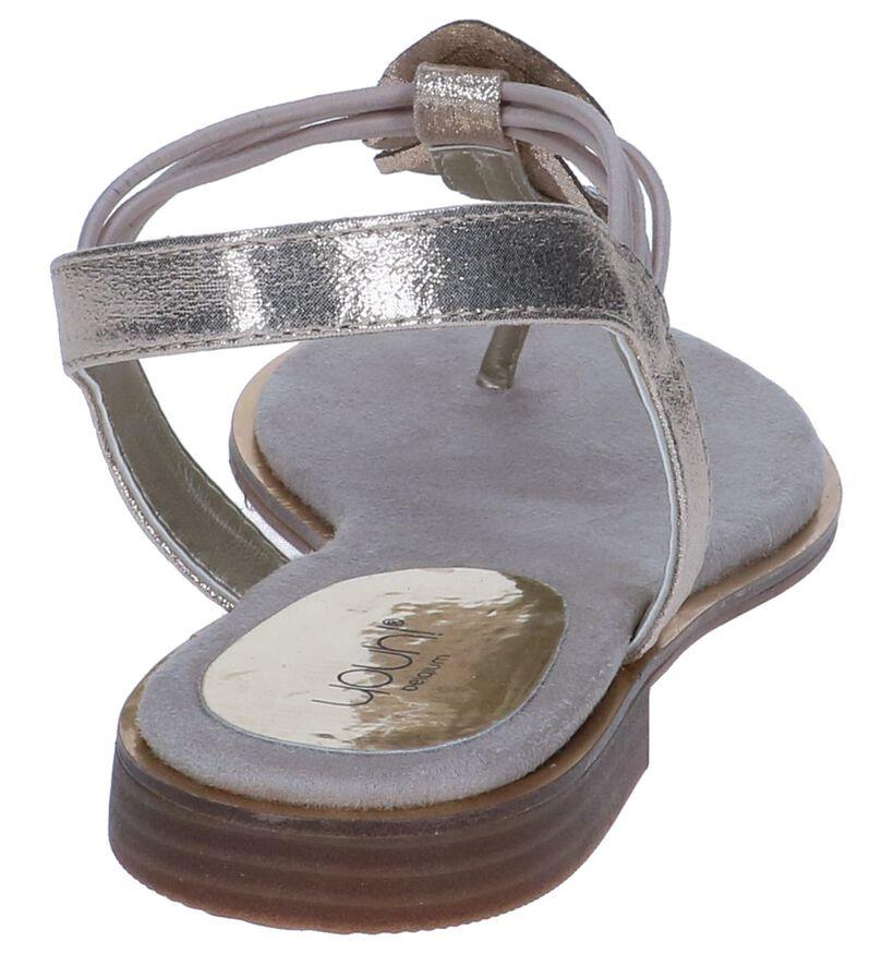Gouden Sandalen Youh! in kunstleer (239197)