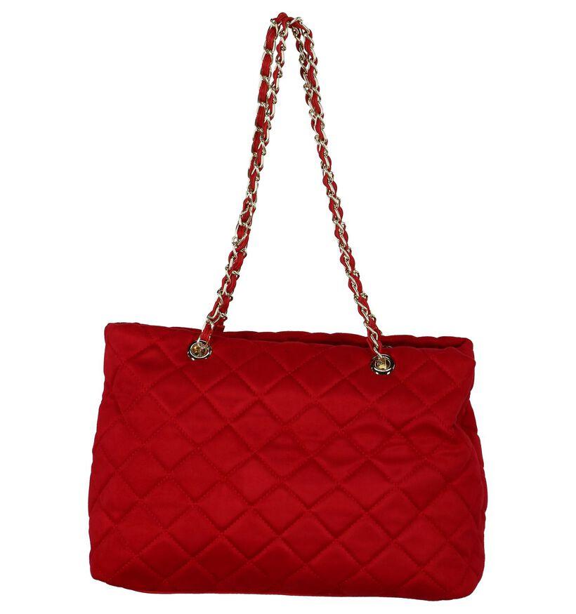 Valentino Handbags Arrival Rode Schoudertas in stof (232799)