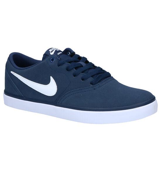 Nike SB Check Solar Blauwe Sneakers