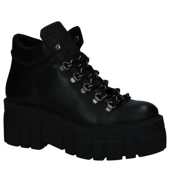 Boots met Dikke Zolen SPM Bosluro Zwart