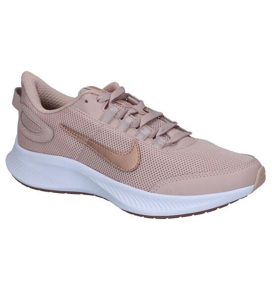 Nike Run All Day Roze Sneakers