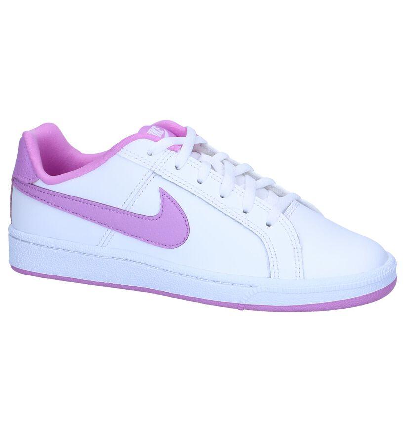 Witte Sneakers Nike Court Royale GS in kunstleer (249847)