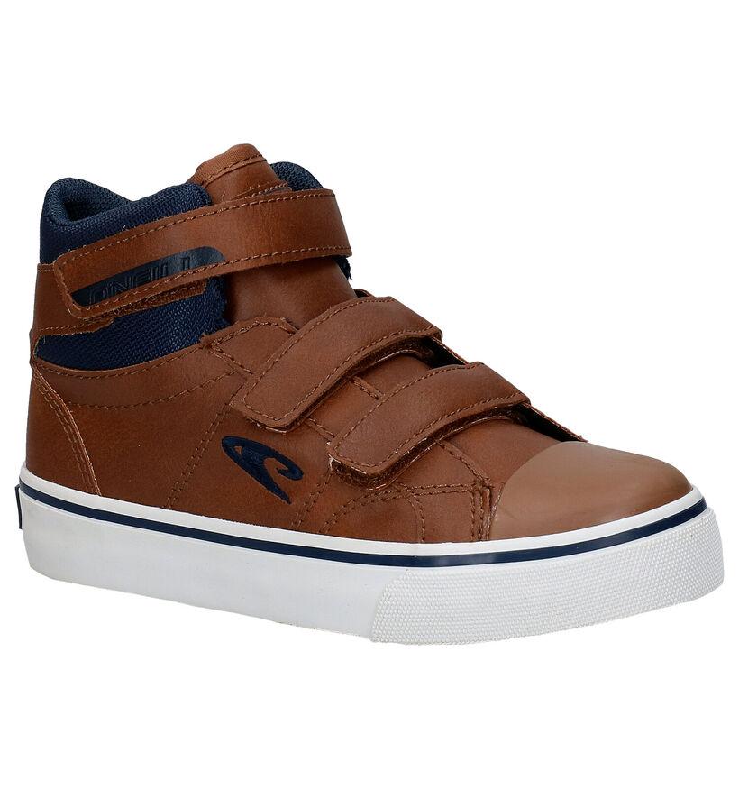 O'Neill Haiku Mid Velcro JR Blauwe Boots in kunstleer (279678)