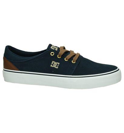 Zwarte DC Shoes Trase SD Skateschoenen, Blauw, pdp