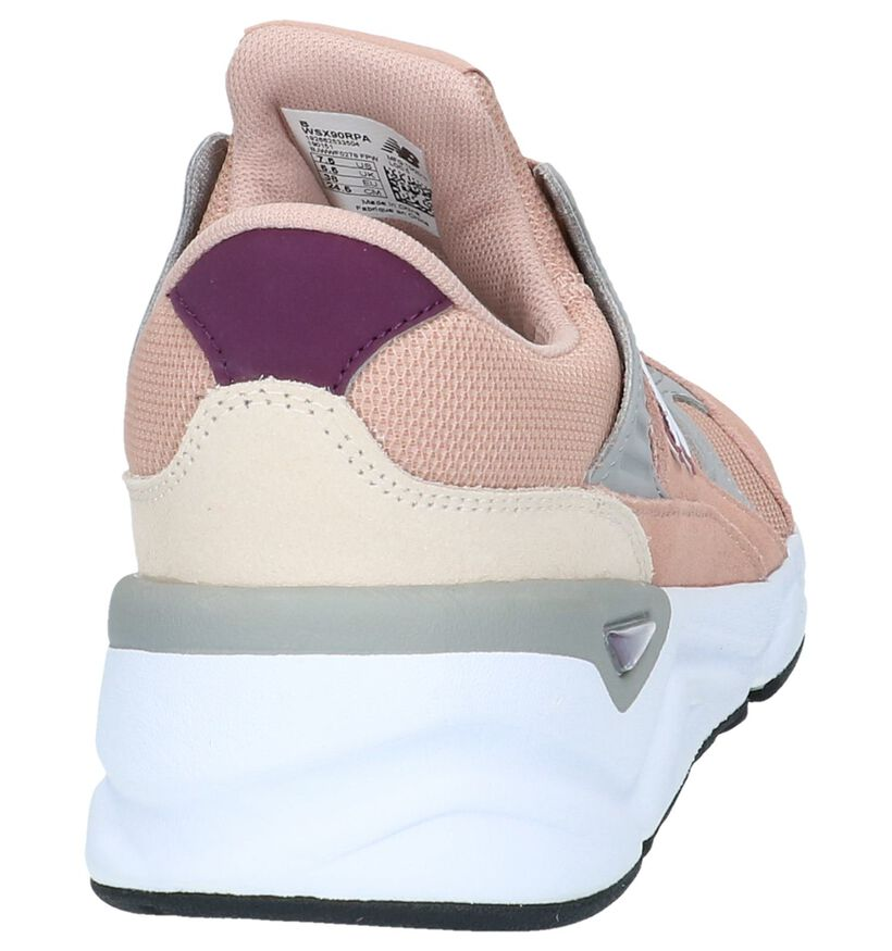 Roze Sneakers New Balance WSX in stof (238276)