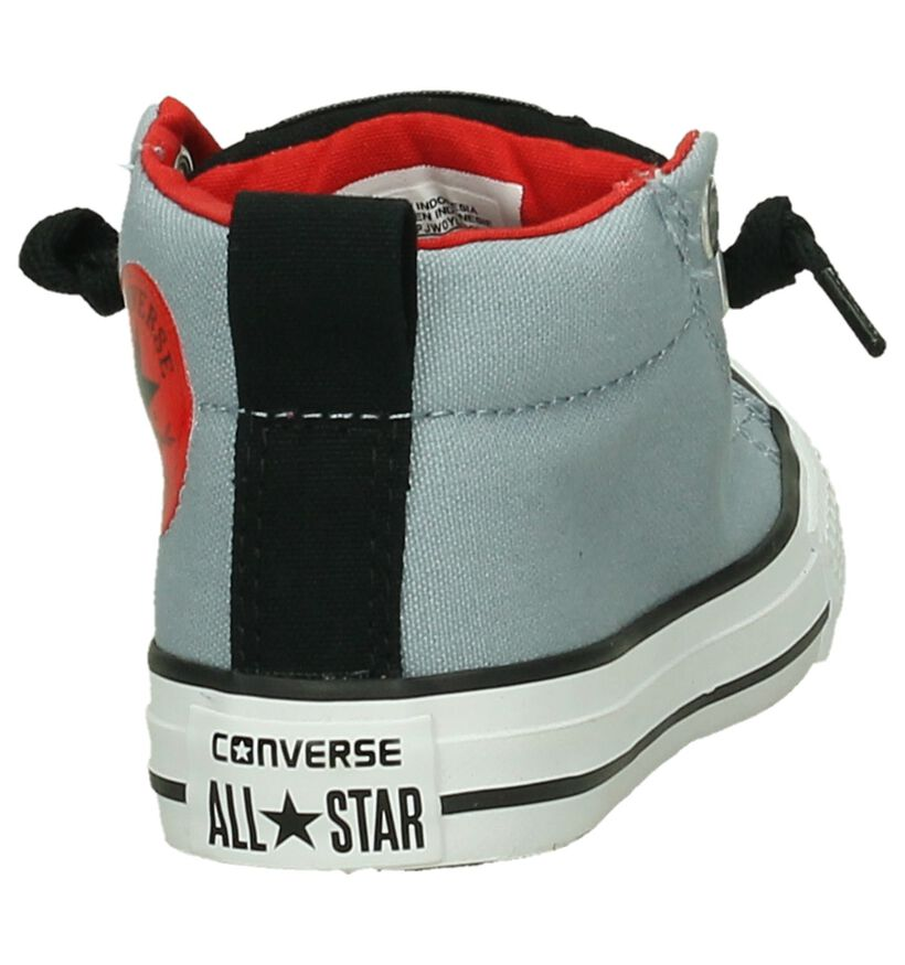 Converse Chuck Taylor All Star MID Blauwe Sneakers in stof (191267)