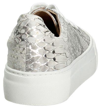 Softwaves Zilver Sneakers in leer (194394)