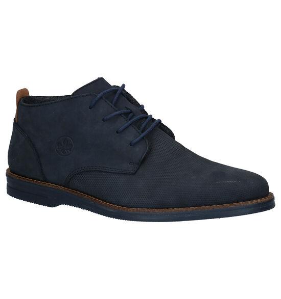 Rieker Blauwe Hoge Nette Schoenen