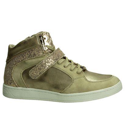 Gouden Hoge Sneakers Tamaris, Goud, pdp