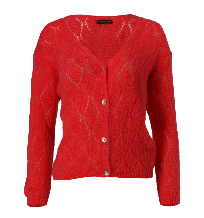 Dolce C. Rode Cardigan (281204)