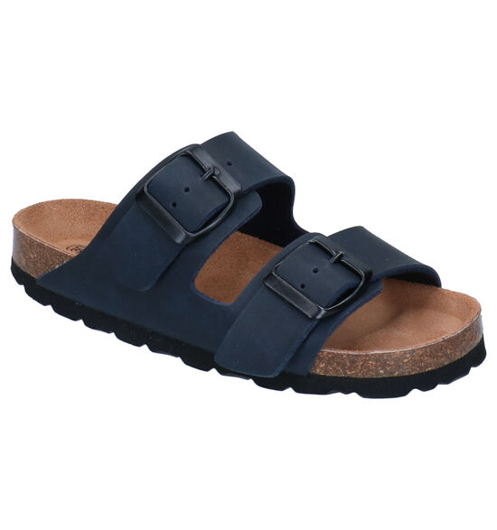 Hampton Bays by Torfs Blauwe Slippers