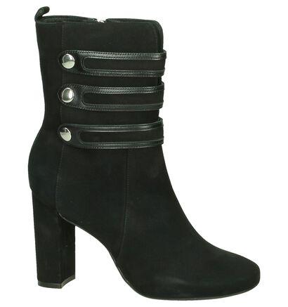 Zwarte Bronx Korte Laarzen, Zwart, pdp
