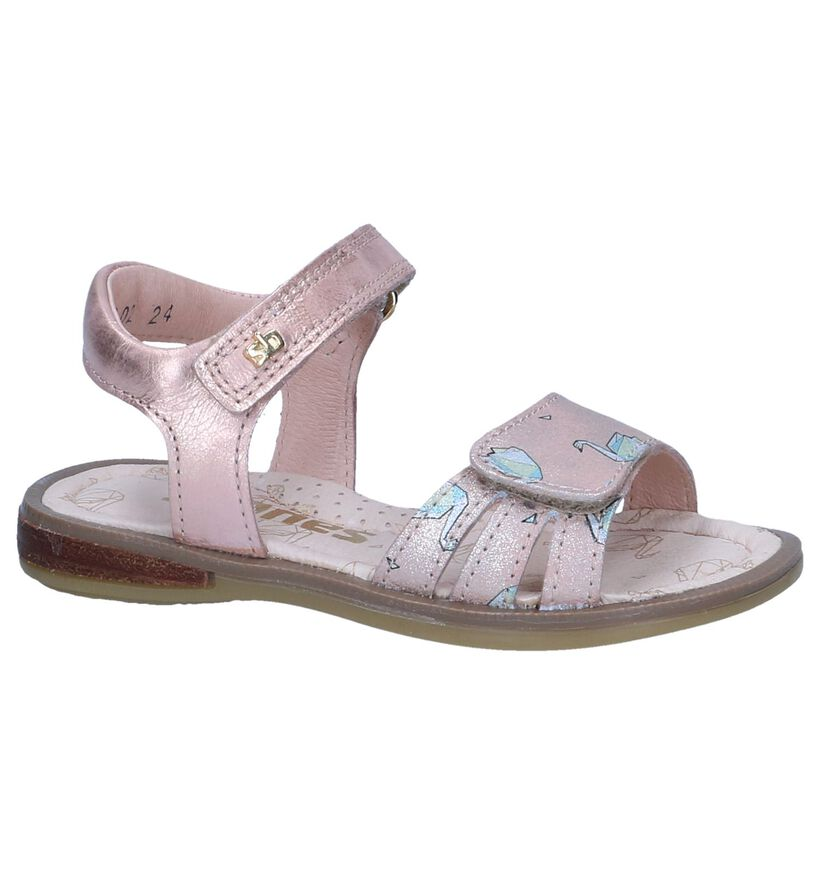 Roze Sandalen STONES and BONES Zefia in leer (239897)