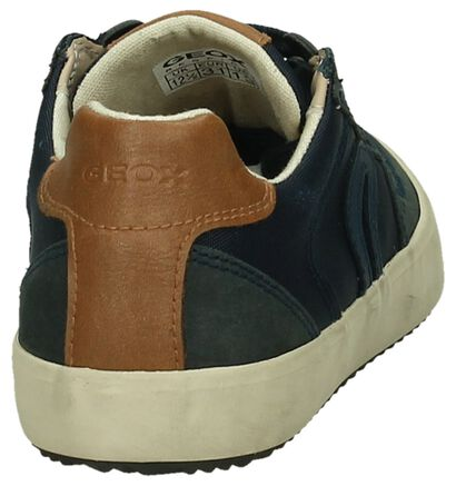 Geox Sneakers Blauw in stof (190663)