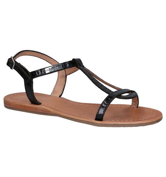 Les Tropeziennes Hacroc Zwarte Sandalen