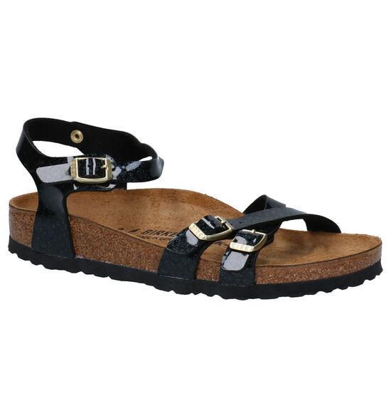 Birkenstock Kumba Zwarte Sandalen