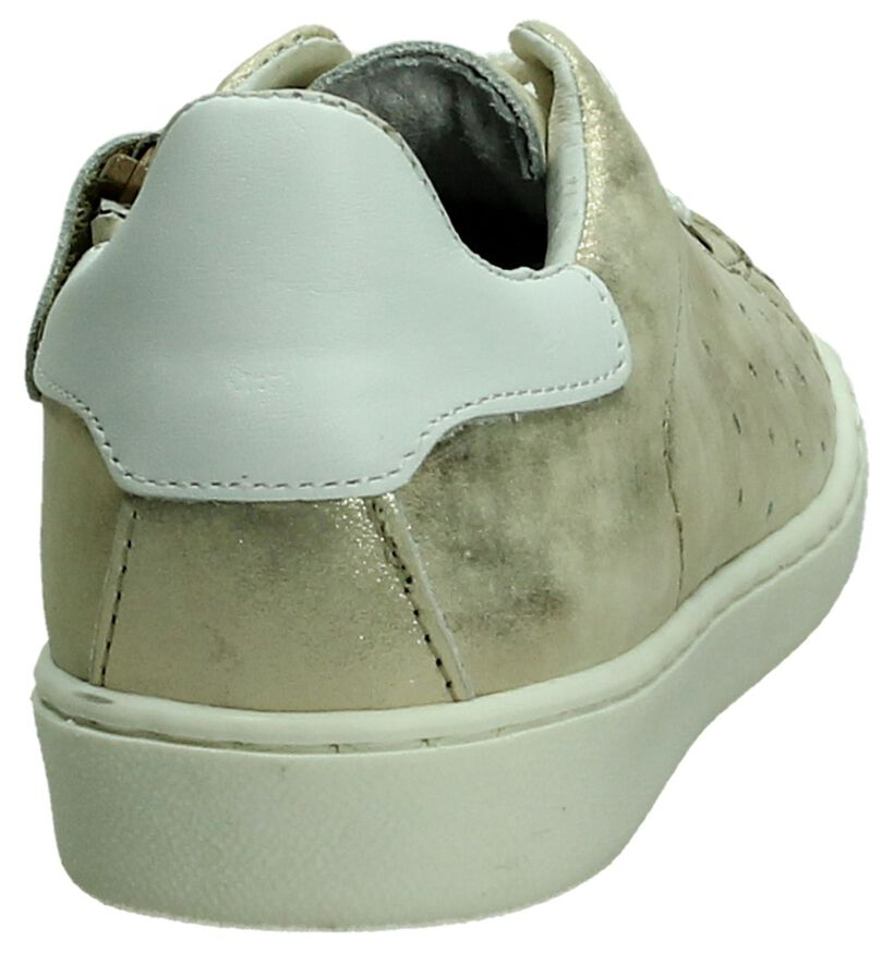 Zilveren Sneaker Hampton Bays by Torfs in leer (189348)