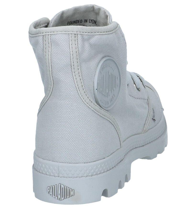 Palladium Pampa Grijze Boots in stof (267406)