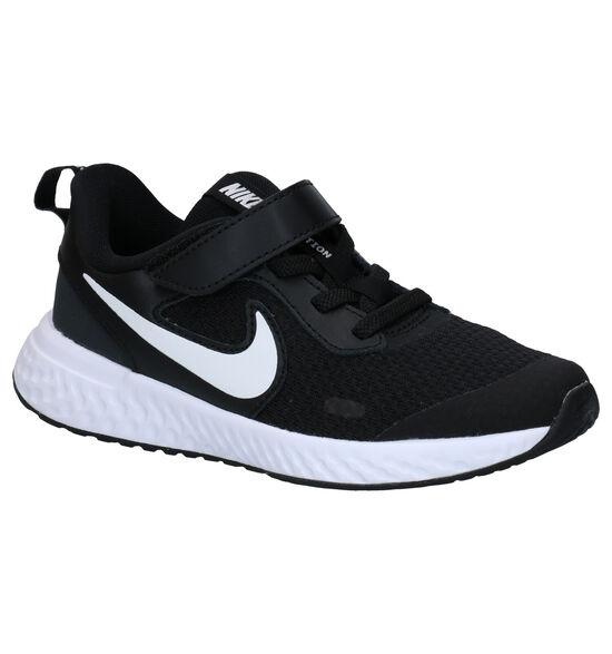 Nike Revolution Zwarte Sneakers