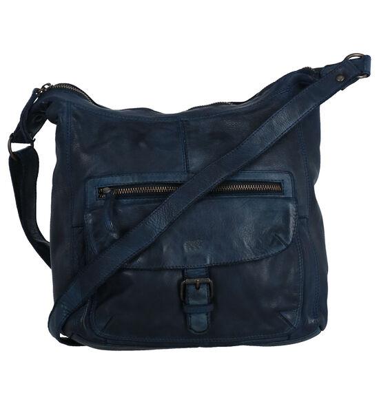 Bear Design Blauwe Crossbody Tas