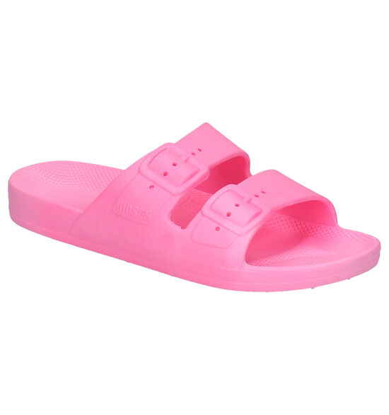 Freedom of Moses Bubble Gum Roze Slippers
