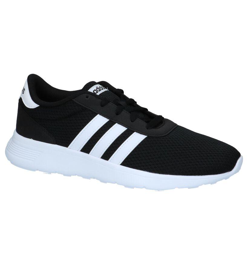 adidas Lite Racer Grijze Sneakers in kunstleer (261829)