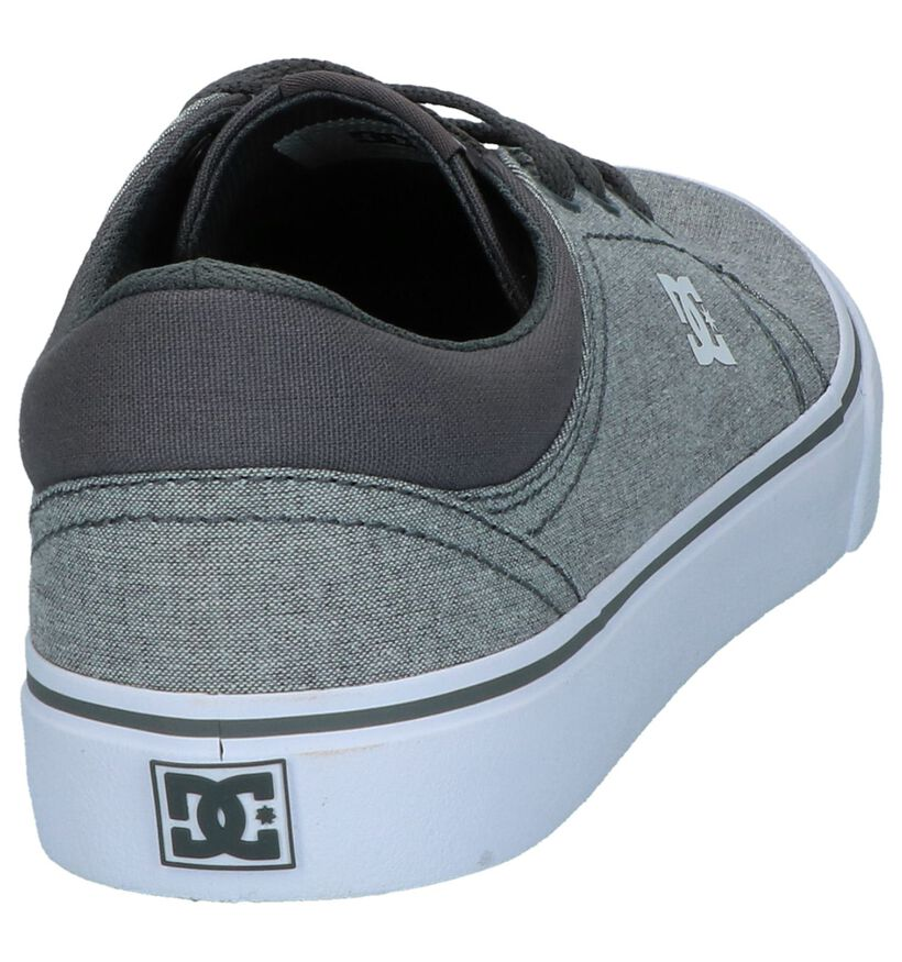 Grijze Skateschoenen DC Shoes Trase TX in stof (240918)