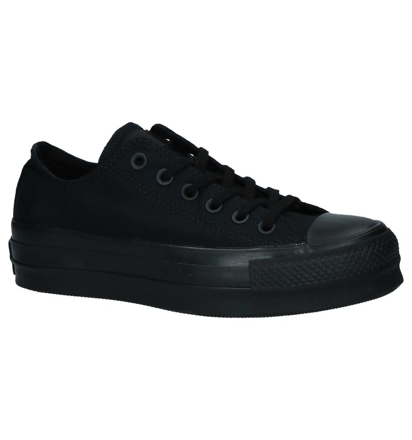 Zwarte Converse Chuck Taylor All Star Sneakers in stof (235598)