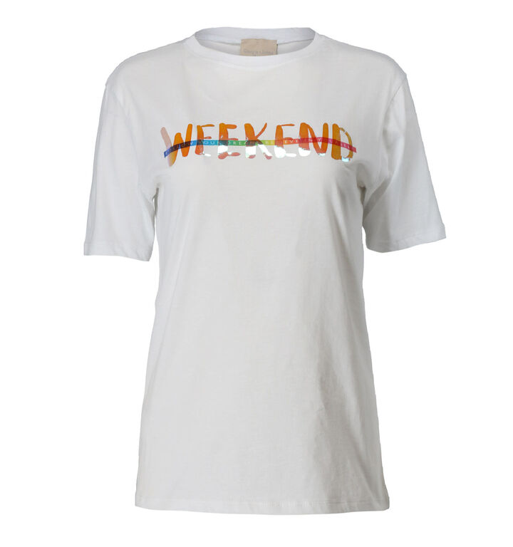 Giogia & Johns Witte T-shirt