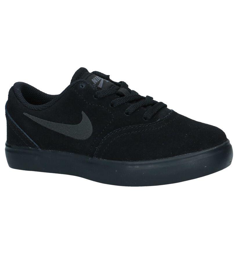 Zwarte Lage Skateschoenen Nike SB in nubuck (234414)