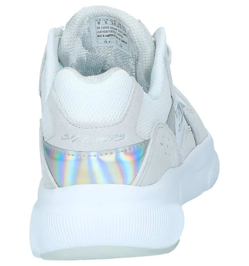 Witte Sneakers Skechers Meridia in daim (247098)