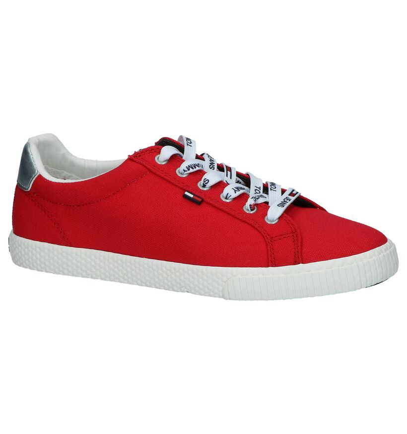 Rode Sneakers Tommy Hilfiger Tommy Jeans Casual in stof (241777)