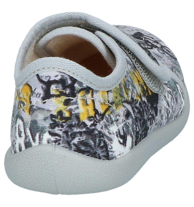 Grijze Gesloten Pantoffels Bellamy Opalier in stof (248495)