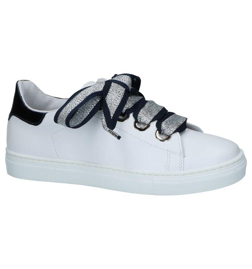 Witte Sneakers met Glitters Milo & Mila by Torfs in kunstleer (242337)