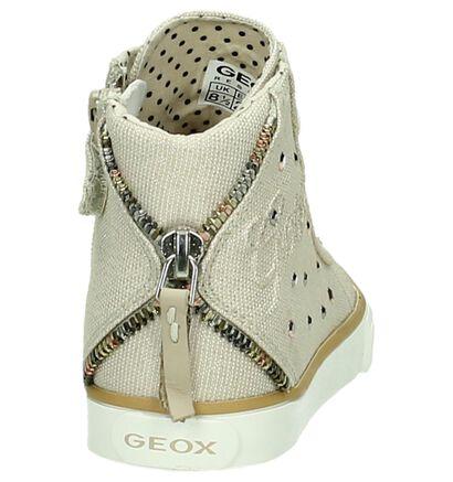 Geox Beige Sneakers Hoog, Beige, pdp