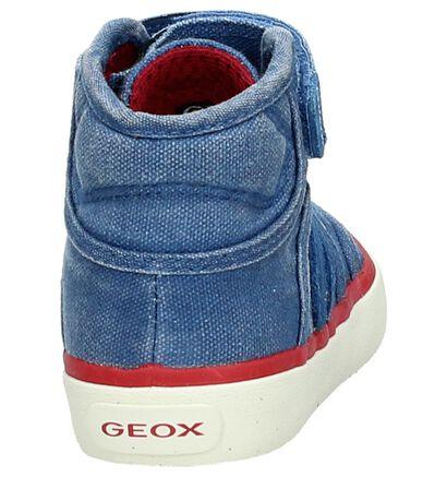 Geox Blauwe Hoge Sneaker, Roze, pdp