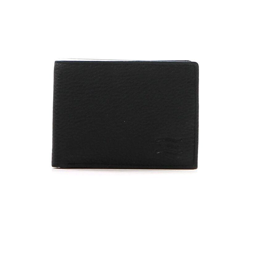Crinkles Portefeuille Zwart in leer (237399)