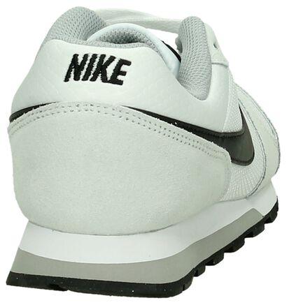Nike MD Runner Witte Lage Sneakers, Wit, pdp