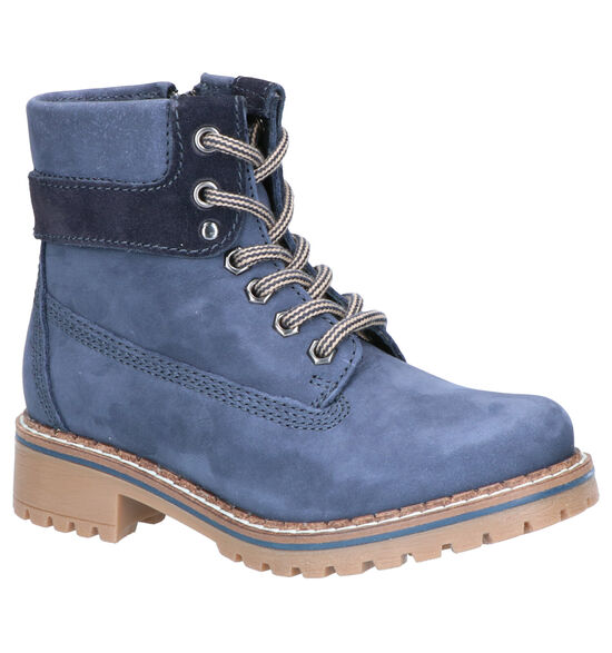 Dazzle by Torfs Blauwe Boots