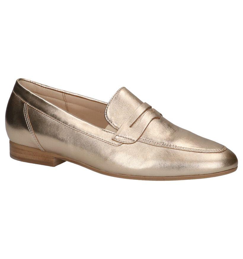 Gabor Optifit Gouden Loafers in leer (216113)