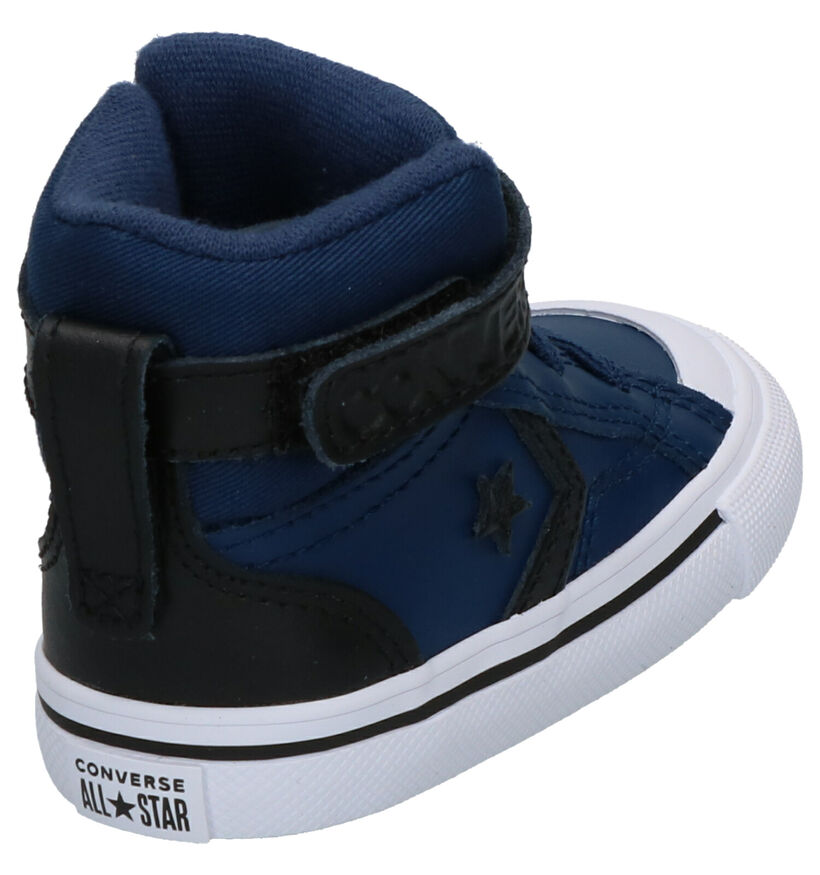 Converse Pro Blaze Zwarte Sneakers in leer (252992)