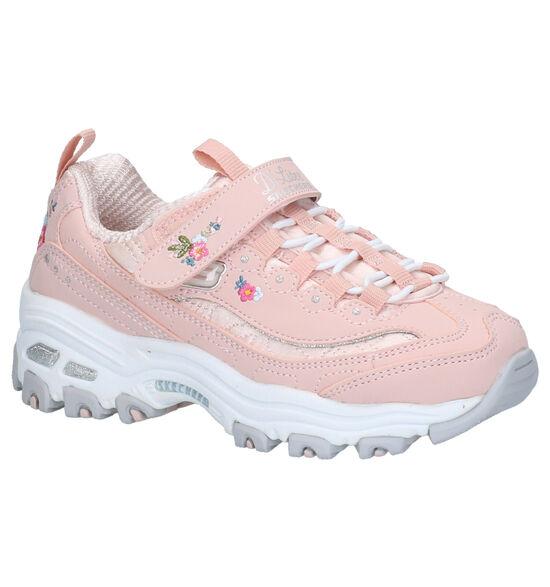 Skechers D'Lites Roze Sneakers