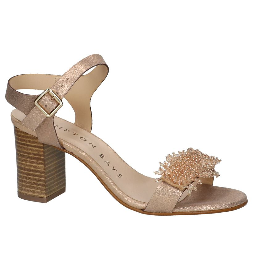 Hampton Bays by Torfs Rose Gold Sandalen in leer (209720)